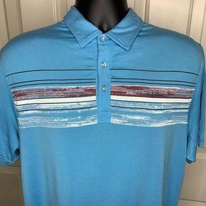 TRAVIS MATHEW Men's Golf Polo Size MEDIUM